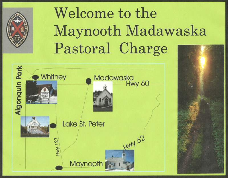 Maynooth Madawaska Pastoral Charge map