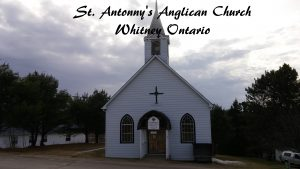 Whitney, Madawaska, Sunday Service at Whitney St Anthony's @ St. Anthonys Anglican Church | Whitney | Ontario | Canada