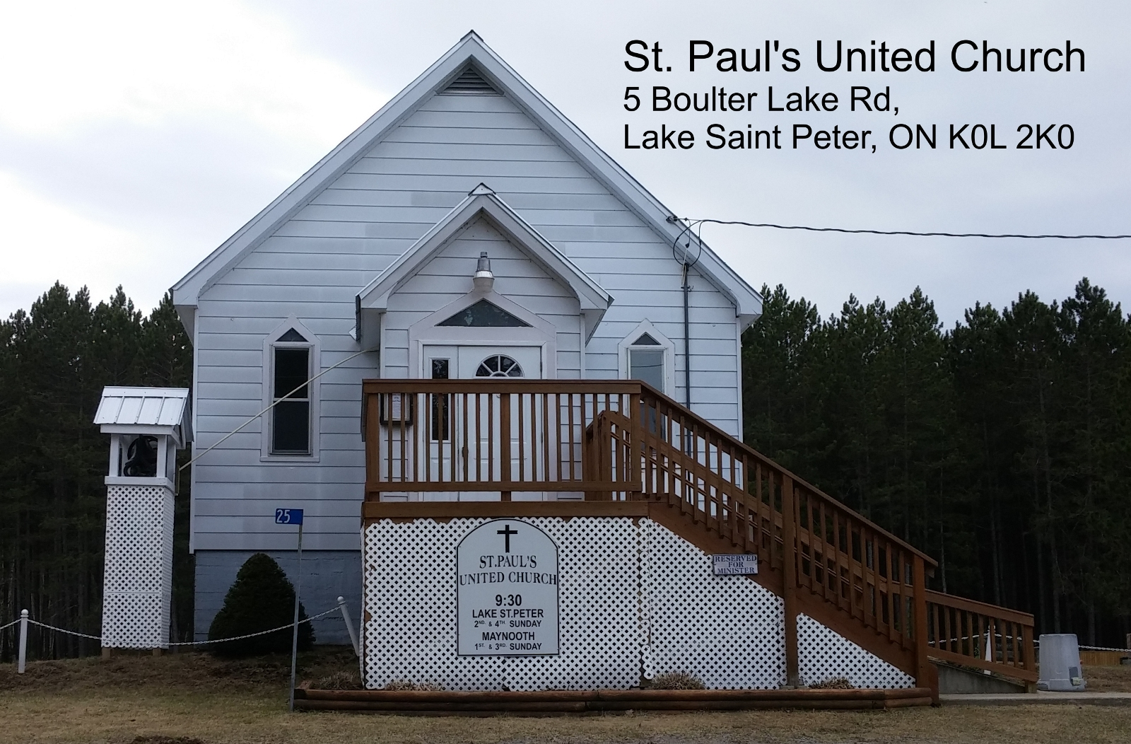 Lake St Peter, Maynooth Sunday Service at Lake St Peter @ St. Paul's United Church | Lake Saint Peter | Ontario | Canada