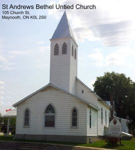 Maynooth & Lake St. Peters Church Service in Maynooth @ St Andrews Bethel United Church  | Maynooth | Ontario | Canada